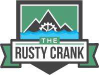 The Rusty Crank Logo