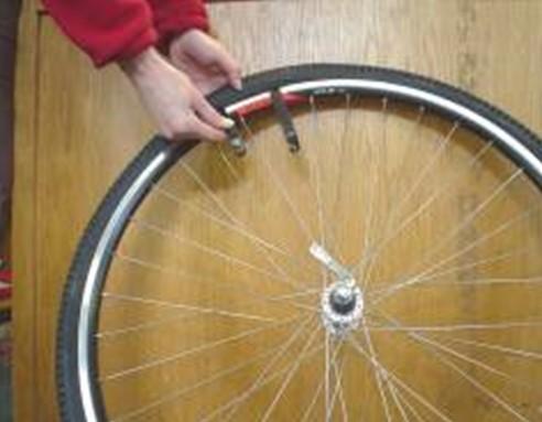 Remove wheel