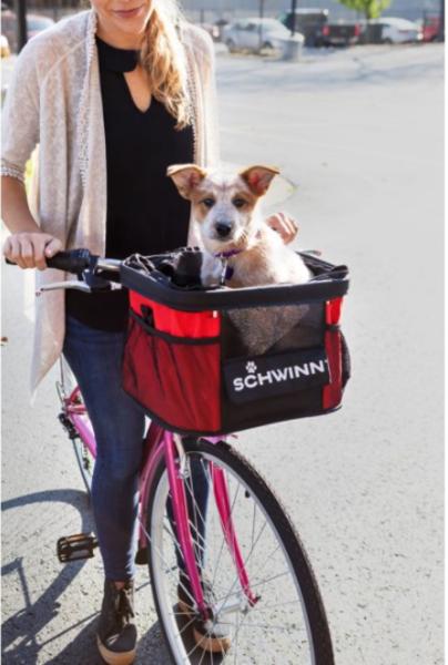 Schwinn Bike Handlebar Lightweight Dog Carrier (up to 12 lbs)