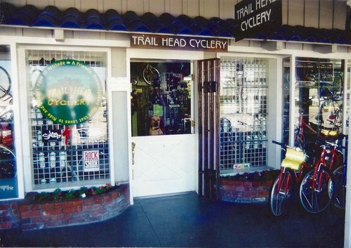 Original Trail Head Cyclery location Campbell CA