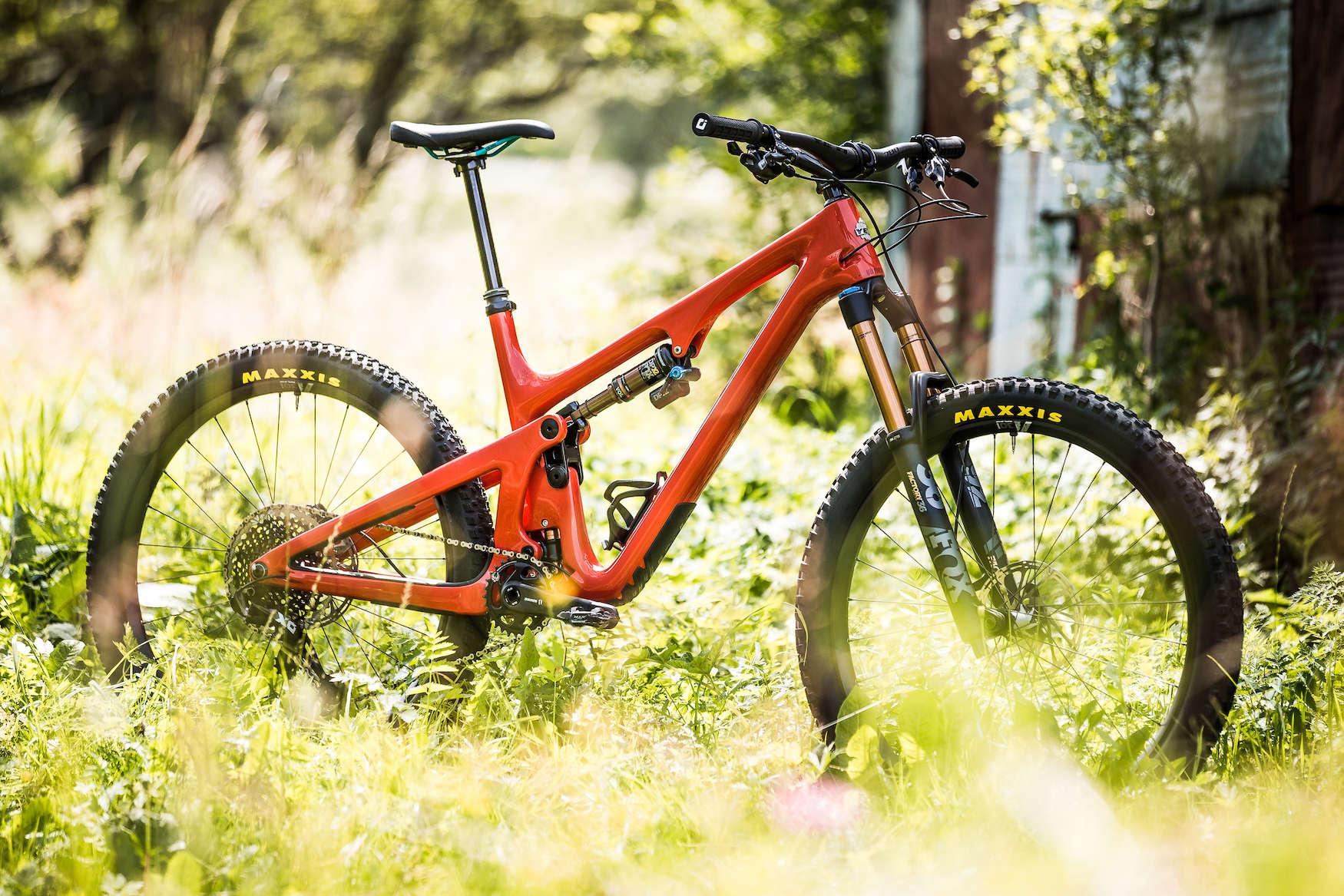 Yeti cycles sb140 at trail head cyclery