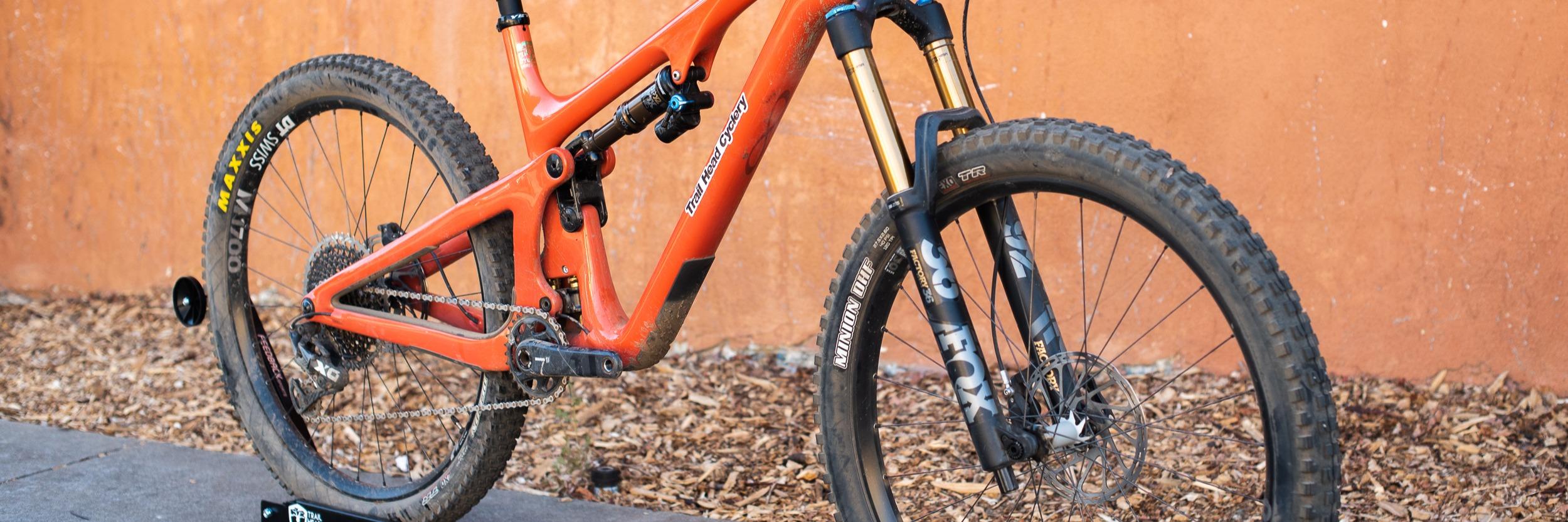 Yeti SB140 rental mountain bike from trail head cyclery
