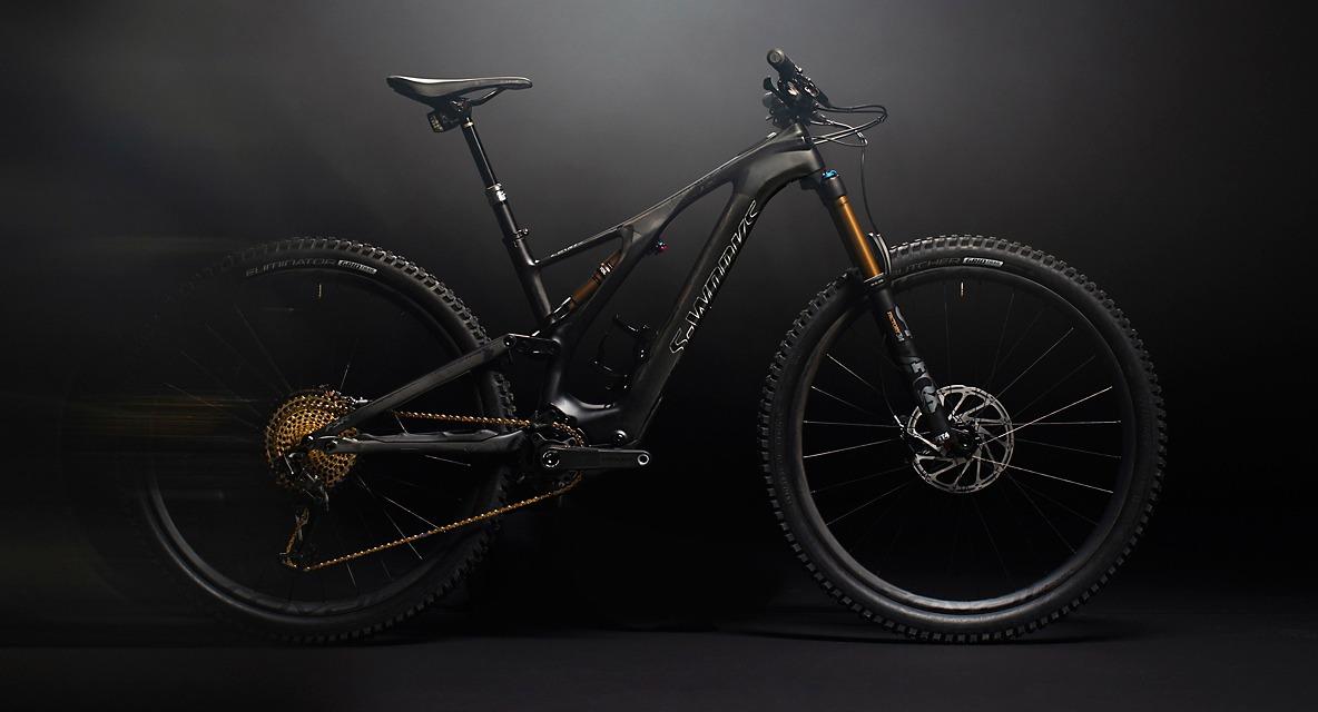 Specialized turbo levo SL at trail head cyclery