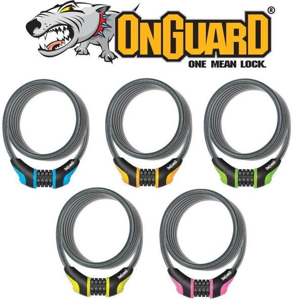 OnGuard Neon Combo Lock - Various Colors