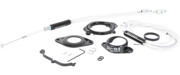 """Odyssey Gyro G3 1-1/8"""" Detangler Kit - Black or White"""