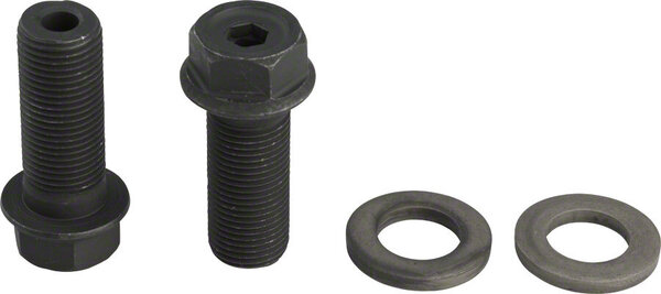 GSport G-bolts 14mm Male Axle Bolts for Female Hub / 17mm & 6mm Hex Heads - Pair