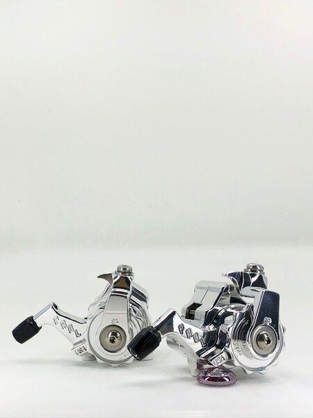Paul Component Engineering Klamper Disc Caliper FM / Short Pull - High Polish