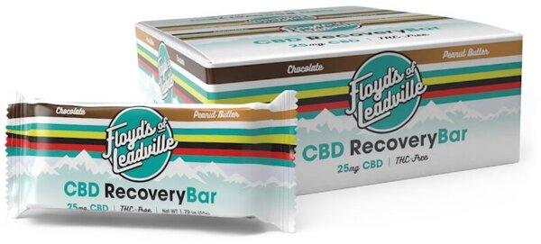 Floyd's of Leadville CBD Chocolate Penut Butter Recovery Bar