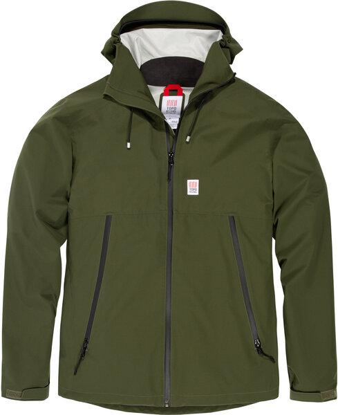 TOPO Global Jacket Mens - Olive
