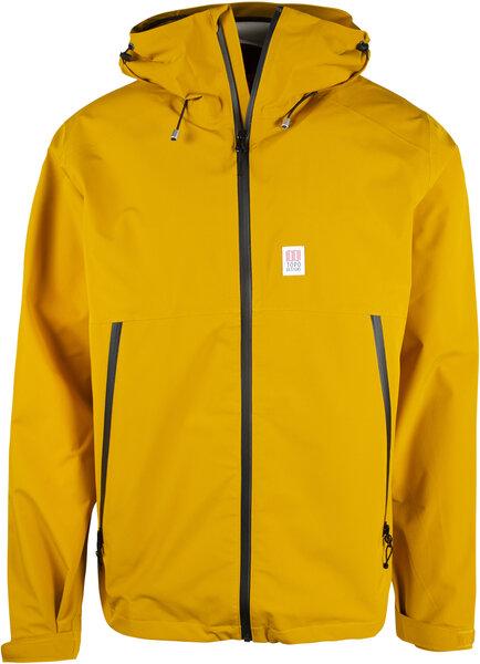 TOPO Global Jacket Mens - Mustard