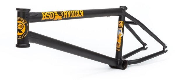Fitbikeco Raider Frame Flat Black - 20.7""
