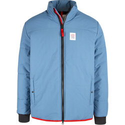 TOPO Mid Puffer Jacket Mens - Vintage Blue