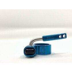 Paul Component Engineering QR Seatpost Collar / 31.8 Clamp - LMTD Blue