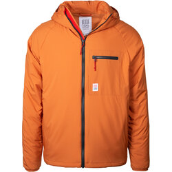 TOPO Puffer Hoodie Mens - Clay