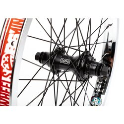BSD Rear Wheel BSD Mind / Street Pro Cassette / RHD 9t / NASA / Female Hub - Chrome