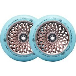 root Industries ROOT INDUSTRIES LOTUS WHEELS 110MM X 24MM COPPER/ISOTOPE
