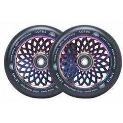 root Industries Lotus Wheels | Black / Rocket Fuel