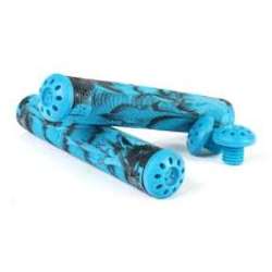root Industries R2 Grips | Aqua/Blue