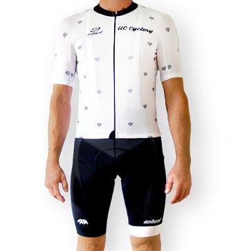 UCC Custom Men's La Jolla Bib Short