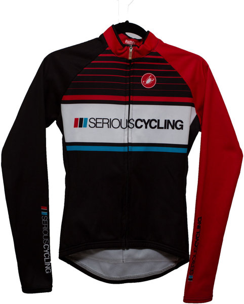Castelli Serious Cycling Jersey Classic Black LS (WMN)