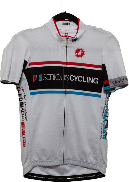Castelli Serious Cycling Jersey SS Classic White (WMN)