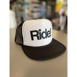 Ride! Ride! Flat Billed Hat