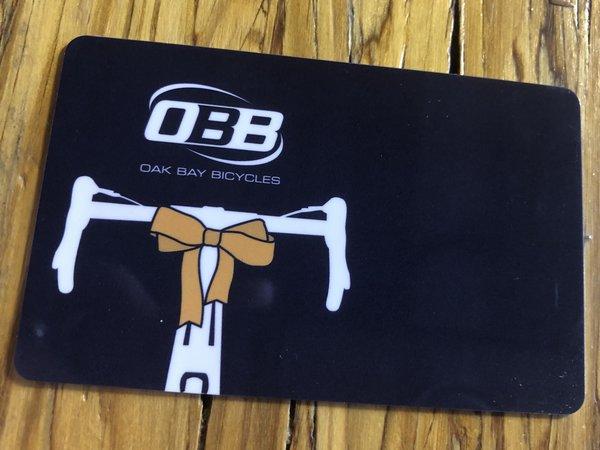 Oak Bay Bicycles Gift Card