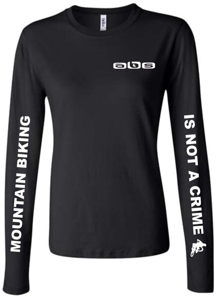 Another Bike Shop MTB IS NOT A CRIME Long Sleeve T-Shirt - Women's