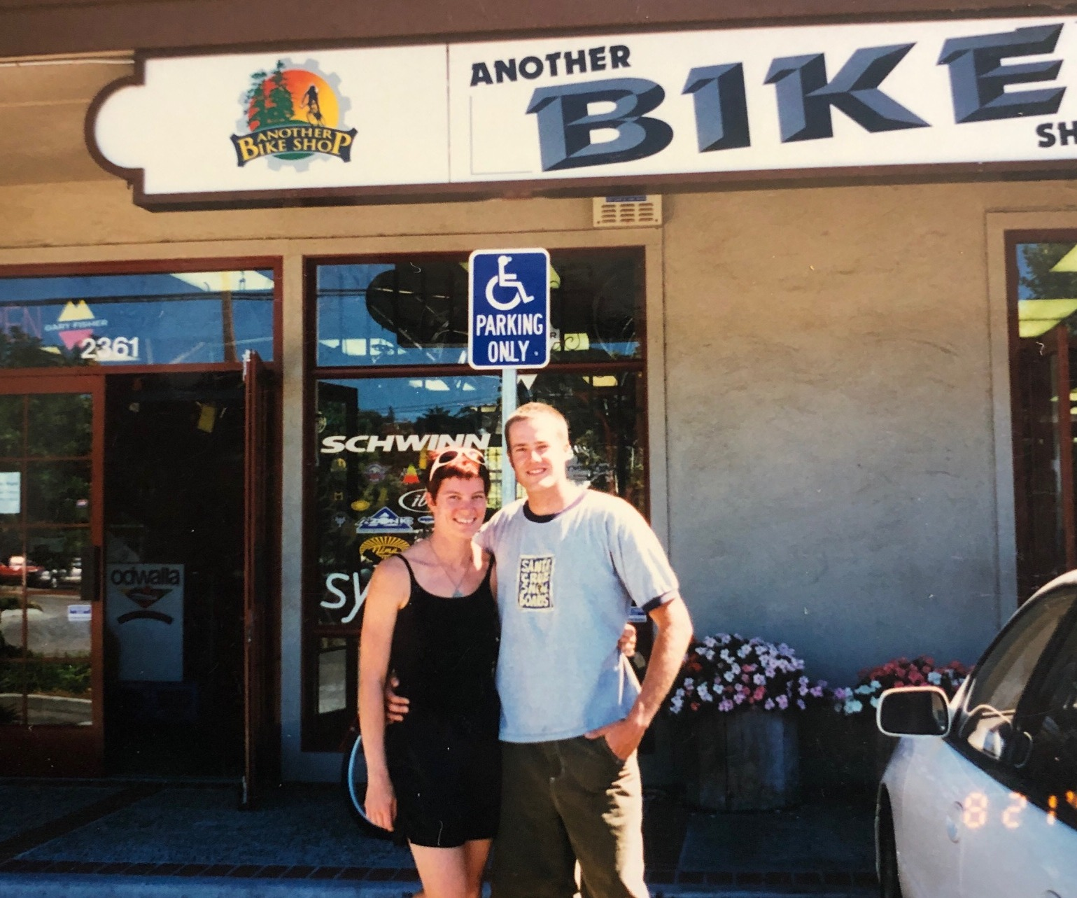 Another Bike Shop owners