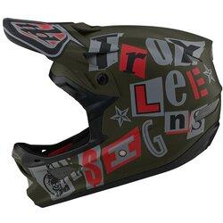 Troy Lee Designs D3 Helmet - ANARCHY