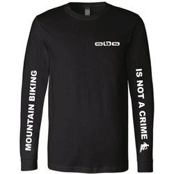 Another Bike Shop MTB IS NOT A CRIME Long Sleeve T-Shirt