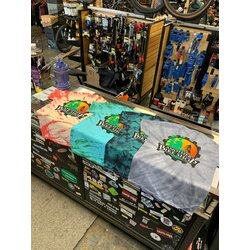 Another Bike Shop Old School Tie Dye T-shirt