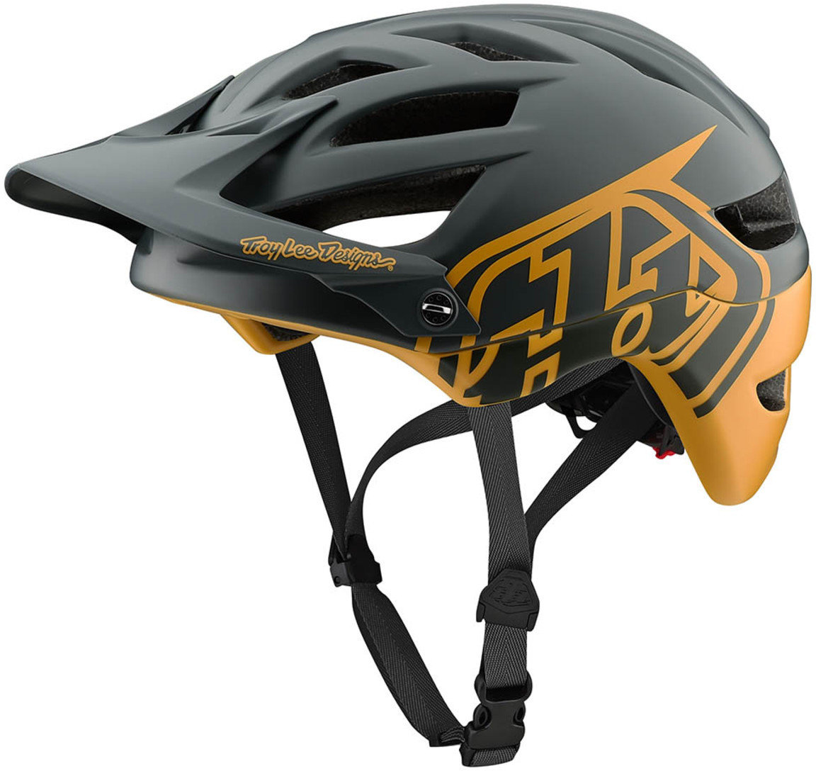 Troy Lee Designs 2018 Bike A1 MIPS Helmet Classic Gray Adult All Sizes