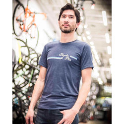 Bicycles Plus Stars & Stripes Shop T-Shirt