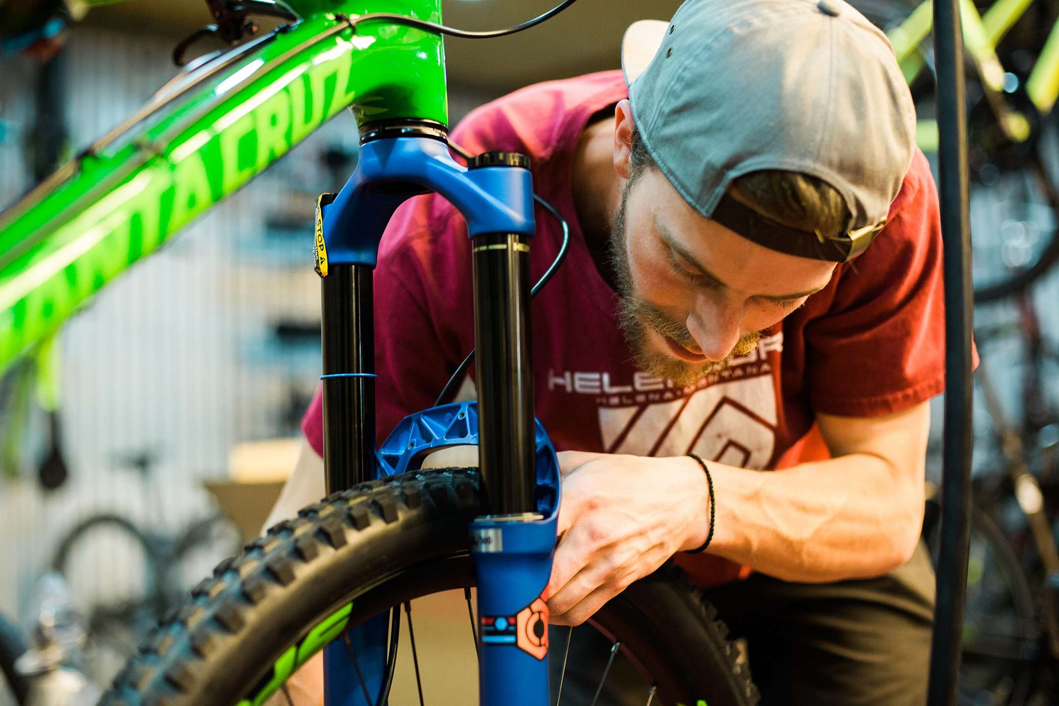 Keenan Cox, Bike Mechanic & Sales at Grand Ridge Cyclery
