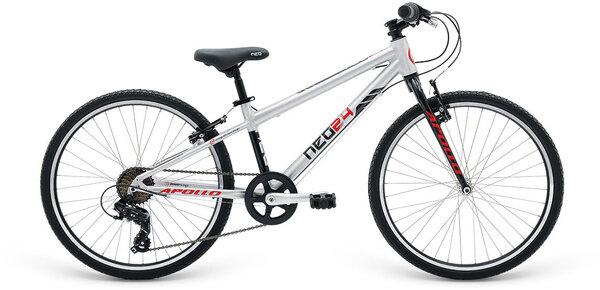 """Apollo Bikes RADIUS NEO 26"""" Silver/Black/Red"""