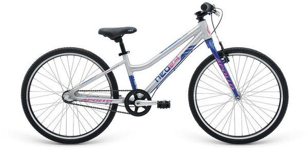 """Apollo Bikes RADIUS NEO 24"""" Silver/Blue"""