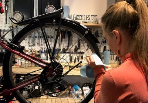 Learn to Repair classes at Halifax Cycles & Guitars