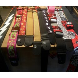 D'Addario Assorted Guitar Straps