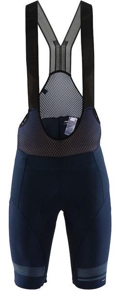 Craft HALE GLOW BIB SHORTS Bleu/Noir