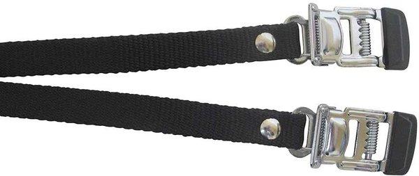 Evo Courroies en nylon avec boucles en acier, Noir