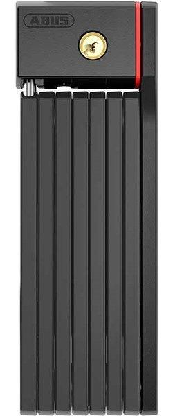 ABUS Bordo Big uGrip 5700, Cadenas pliable, Cle, 100cm, 3.3', 5mm, Noir