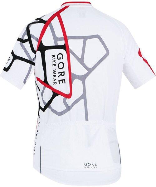 Gore Wear Element Adrenaline Jersey Blanc/Rouge