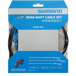 Shimano Ensemble de cables vitesses route DURA-ACE OT-SP41 9000 Polymere Noir