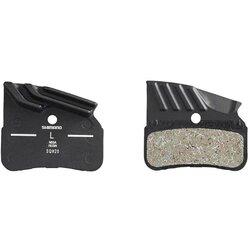 Shimano N03A, Plaquettes de freins à disque, Forme: Shimano N-Type, Résine, Paire