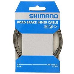 Shimano Cable de frein, Inox, Route, 1.6 x 2050mm, Unite