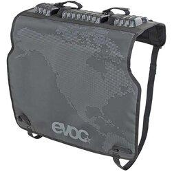 evoc Tailgate Pad Duo, Protecteur de panneau de boite de camionnette, Convient a toutes les camionettes, Pour 2 velos, Noir
