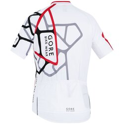 Gore Wear Element Adrenaline Jersey Blanc/Rouge