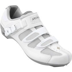 Specialized WOMEN'S TORCH ROAD SHOE - White/Silver