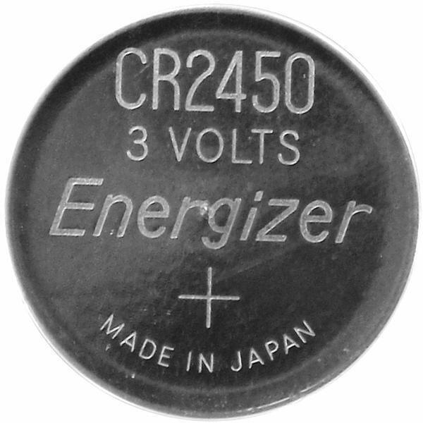 Energizer CR-2450 3v Lithium Coin Battery